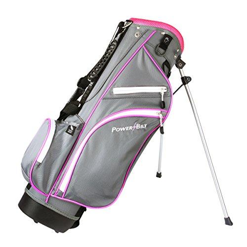PowerBilt Junior (Ages 5-8) Pink Stand Golf Bag