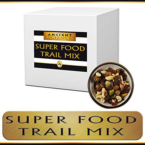 Organic Super Food Trail Mix Bulk 15 LBS Wholesale Supplier - Gojiberries, Macadamia Nuts, Cashews, Cacao Nibs ()