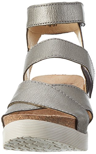 Lead Platform Wege669fly Women FLY Sandal London Borgogna R4qCx1H
