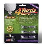 4 More Yards Golf Tees (6pk, 1