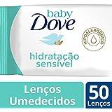 Lenço Umedecido Sache com 50 Hidratação Sensível Unit, Dove Baby