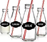 Chalk Labels Medium - set of 24 - labels are great on mason jars, milk bottles and more.