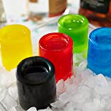 Wilton Round Silicone Shot Glass Mold, 8-Cavity