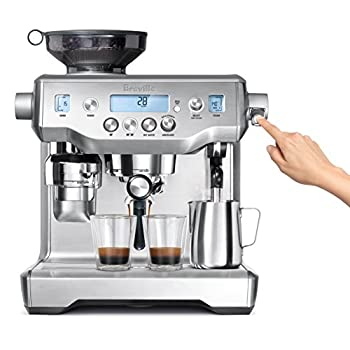 Image of Breville BES980XL Oracle Espresso Machine, Brushed Stainless Steel Home and Kitchen