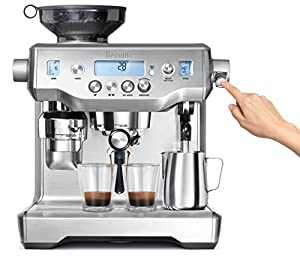 Amazon Com Breville Bes980xl Oracle Espresso Machine