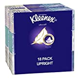 Kleenex Ultra Soft Facial Tissue Cube (18 boxes, 75 tissues per box)