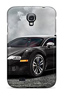 Top Quality Protection Bugatti Veyron Black Case Cover For Galaxy S4