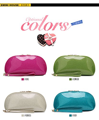 Lady Bag Purse White Party Evening Patent Scratch Wallets Small Organizer Clutch Tavel Woman H Leather AxOqT5v5w