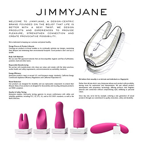 Amazon.com: Jimmyjane - Form 5 Massager, Medical Grade Silicone ...