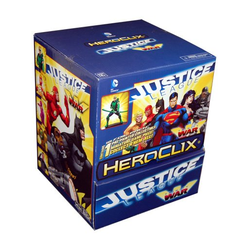 DC HeroClix: Justice League - Trinity War Gravity Feed (24)