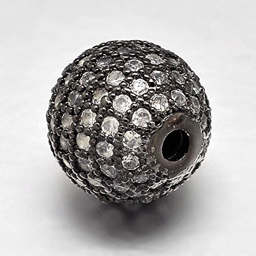 Buy pave beads 8mm