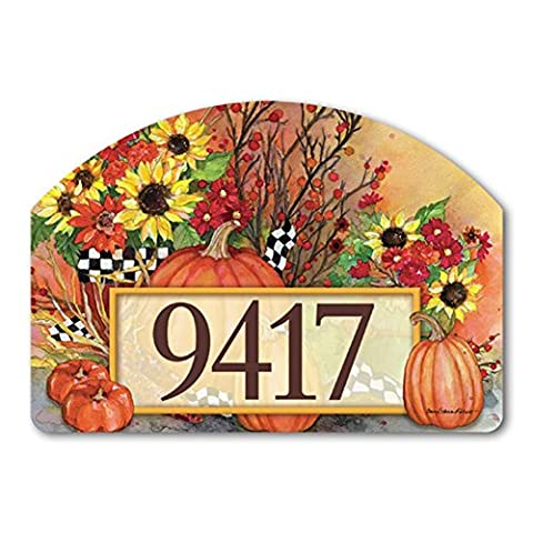 Ready for Fall Yard DeSigns Magnetic Art #70113 - Magnetic Yard