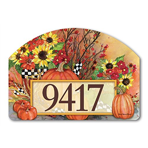 Yard Designs Address Magnet - Ready for Fall Yard DeSigns Magnetic Art #70113