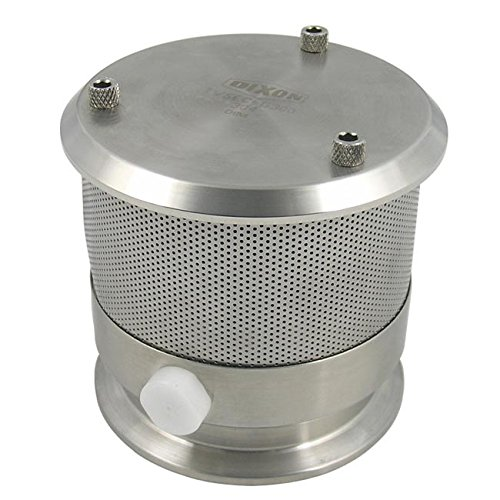 Dixon TVSEC-G300 3'' Tank Vent, EPDM, Clamp, 3'' ID, 316 Stainless Steel by Dixon Valve & Coupling