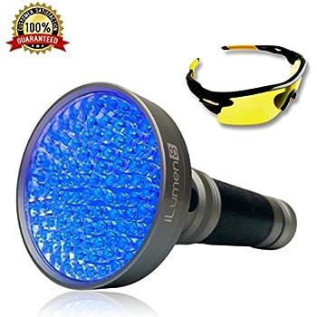 Handheld Pet Urine Light Detector Portable Black Light Uv Flashlight