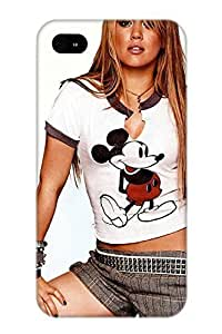 Top Quality Rugged Hilary Duff Wallpape Case Cover Deisgn For Iphone 4/4s For Lovers