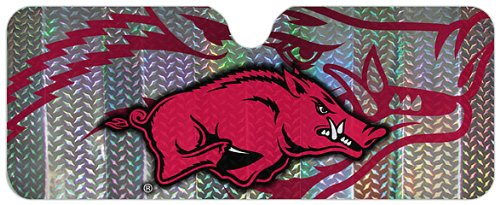 (NCAA Arkansas Razorbacks Auto Sun Shade)