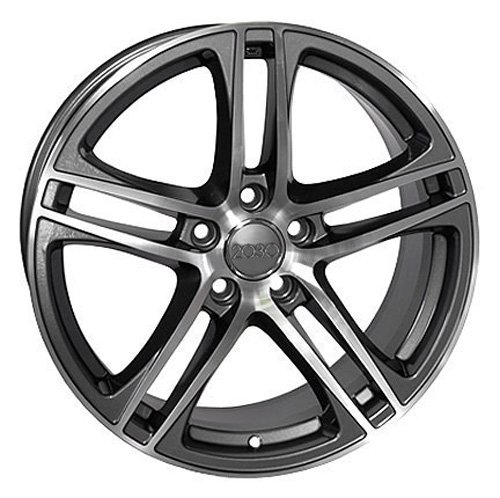 Amazon Com Oe Wheels 17 Inch Fits Volkswagen Cc Beetle Audi A3 A8