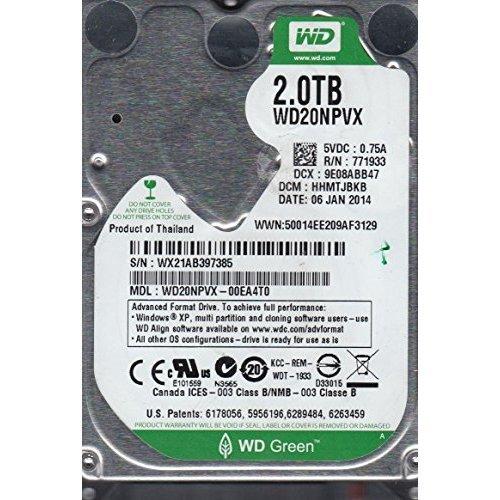WD20NPVX-00EA4T0 Western Digital 2TB 5400RPM S...