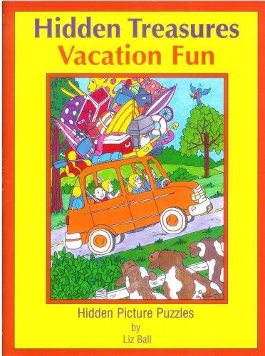 Vacation Fun Hidden Treasures: Hidden Picture Puzzles (Hidden Treasures Hidden Picture Puzzle Books) PDF