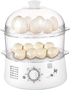 LKNJLL Egg Cooker,650W Electric Egg Maker,White Egg Steamer,Egg Boiler,14 Egg Capacity Egg Cooker With Automatic Shut Off