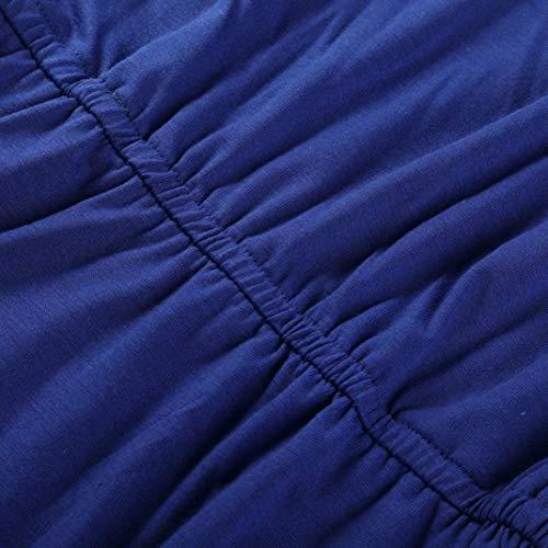 de de Encaje 2018 Casual Zolimx de Vestido Oscuro Hueco Vestidos Fiesta Ofertas Verano Verano Mujeres Femenino Vintage Fuera Mujer Largas Corto Faldas Azul AqPpxwUavw