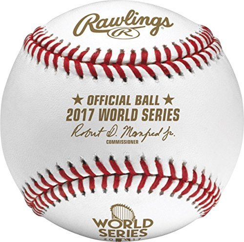 2017 Rawling Official WORLD SERIES Baseball WSBB17 Dodgers vs Astros by 2017 World Series