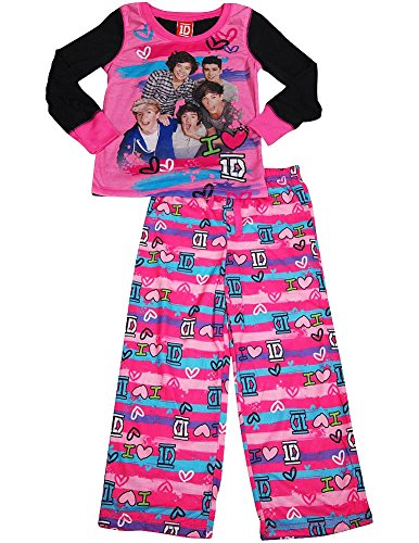 One Direction - Little Girls' Long Sleeve One Direction Pajamas