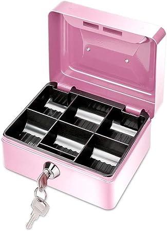Moneda de Dinero en Efectivo Registro Introduzca la Bandeja de reemplazo cajero cajón de Almacenamiento Caja registradora Bandeja de la Caja Clasifica Tienda (Color : Pink): Amazon.es: Hogar