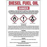 Diesel Fuel Oil (NO. 2) GHS Label