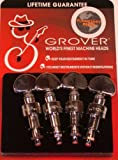Grover, 119C, Set of 4 Geared Banjo Pegs Machines