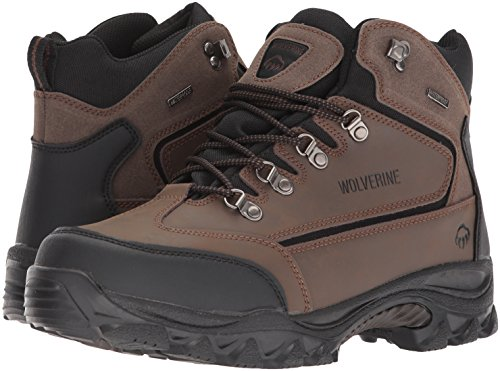 Image of the Wolverine Men's Spencer Hiking Boot,Brown/Black,10 EW