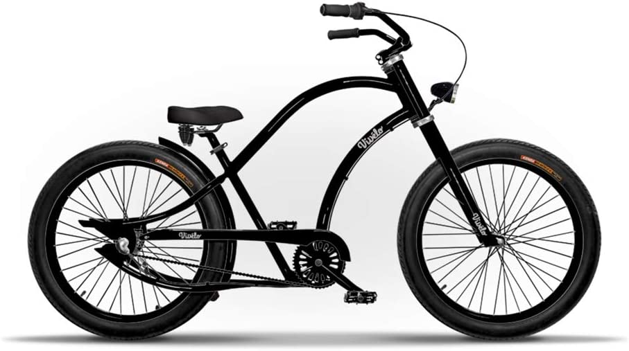 """CRUISER CHOPPER  2-24 x 3/"""" WIDE BICYCLE FLAME TIRES"""