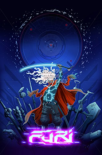 CGC Huge Poster - Furi Ps4 Xbox One