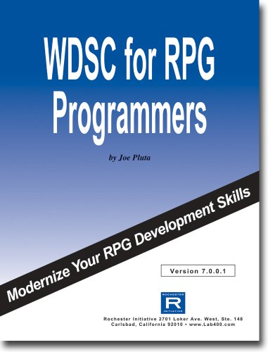 WDSC 7 for RPG Programmers by Rochester Initiative
