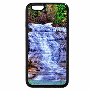 iPhone 6S / iPhone 6 Case (Black) fantastic cascading waterfalls hdr