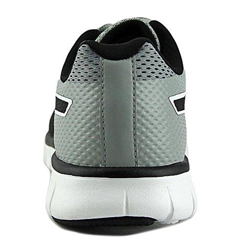 Puma falta de definición de los zapatos corrientes Limestone Gray-Black-White