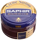 Saphir Shoe Cream Beaute du Cuir Creme Surfine 50ml Glass jar (Burgundy)