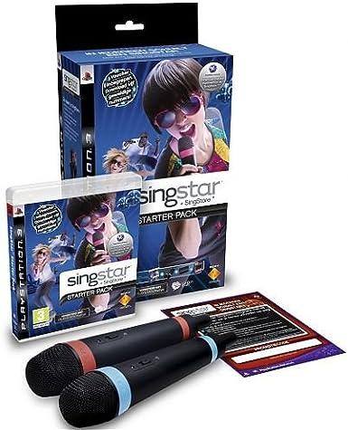 Sony Singstar Starter pack, PS3 - Juego (PS3, PlayStation 3, Música, T (Teen)): Amazon.es: Videojuegos