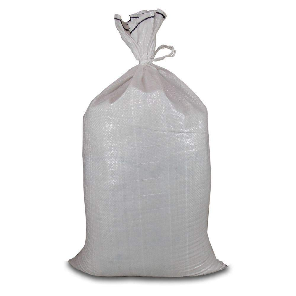 Hercules Poly Woven Sand Bag with Tie (100-Count) by Hercules