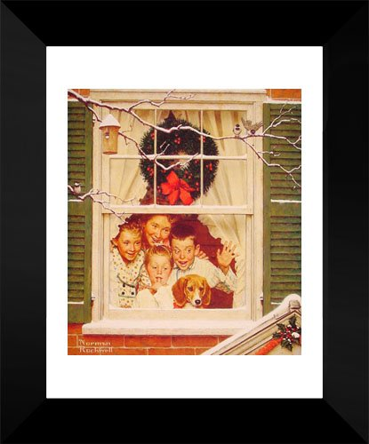 Oh boy, it's Pop with a new Plymouth 15x18 Framed Art Print by Rockwell, Norman