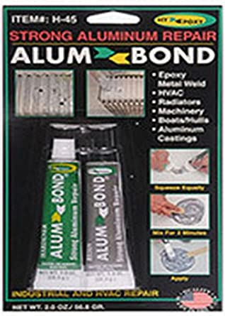 Sporting Hy-poxy H-450 Alumbond 6.5 Oz Aluminum Putty Repair Kit Excellent Quality Business & Industrial