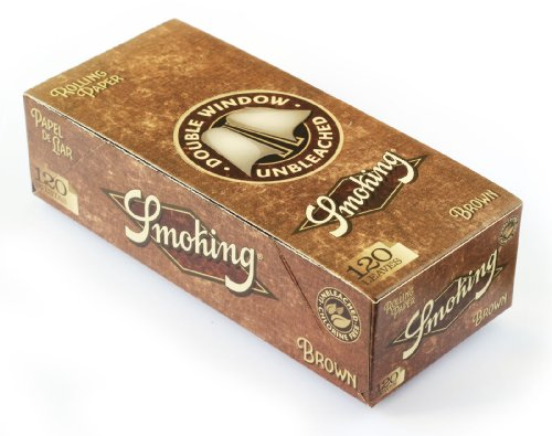 Smoking BROWN Double UNBLEACHED Rolling paper - 3000 - Papers Rolling Smoking