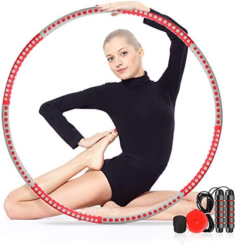 gracosy Weight Loss Workout with 8 Sections Detachable Weight Adjustable Soft Workout for Jump Rope Weighted Sport Equipment 1