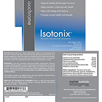 Amazon.com: Isotonix® Isochrome Blood Sugar Suplementos de ...