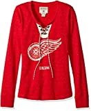 NHL Women's Lace Up Henley Shi