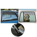 PanDaDa Pet Dog Travel Car Window Safty Ensurance Expandable Fence Ventilation Safe Guard