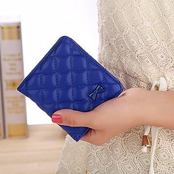 El japonés y el Coreano dama moda monedero corto-sided ...