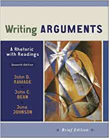ARGUMENTS WRITING RHETORIC WITH READINGS A