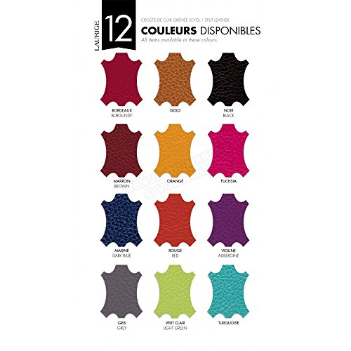 Marrón De Francesa Mano Fabricación Color Diseño Rosa Piel Para Bolso fwOqHzxC